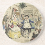 Sr. Fezziwig Dancing, un villancico del navidad Posavaso Para Bebida