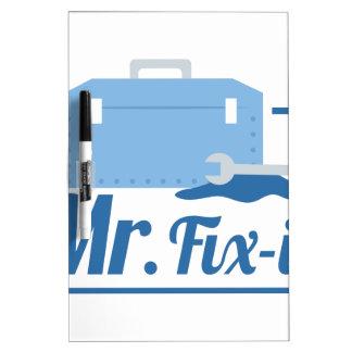 Sr. Fix It Tablero Blanco