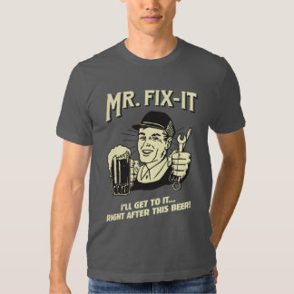 Sr. Fixit: Después de esta cerveza Playera
