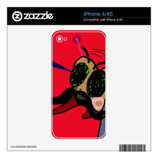 Sr. Fly Skins Para eliPhone 4S