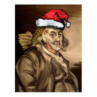 Sr. Franklin For X-Mas Postal