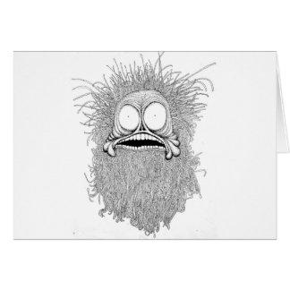 Sr. Freaky es un ejemplo del bizzare Tarjeta De Felicitación