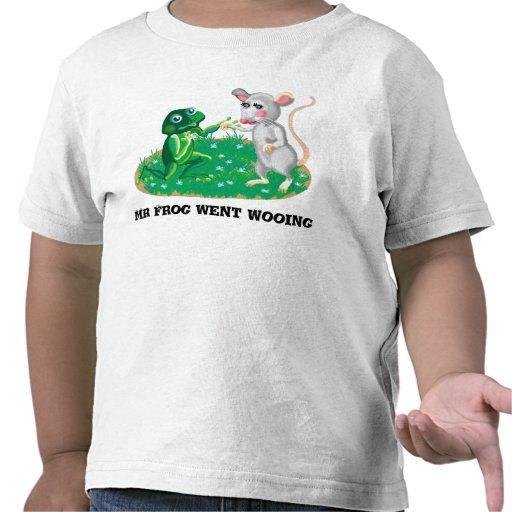 Sr. Frog fue a cortejar Camiseta