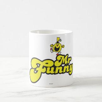 Sr. Funny Logo 1 2 Taza