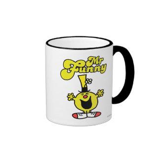 Sr. Funny Logo 1 Tazas