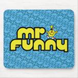 Sr. Funny Logo 3 Tapete De Ratones