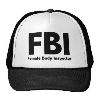 Sr. Funny Rude Humor del FBI Gorros Bordados
