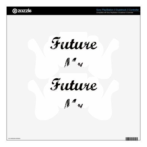 Sr. futuro skins para mando PS3