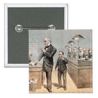 Sr. Gladstone y sus vendedores Pins