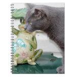 Sr. Gray el gato Cuadernos
