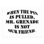 Sr. Grenade Postal