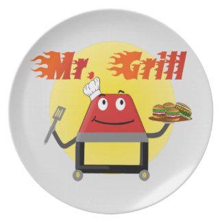 Sr. Grill Plates Platos
