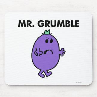 Sr. Grumble Classic Tapetes De Ratones