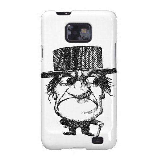 Sr. Grumpyhead Samsung Galaxy SII Fundas