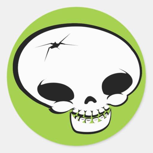Sr. Happy Bones Etiquetas