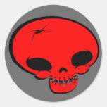 Sr. Happy Bones Red Etiquetas