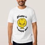 Sr. Happy el | feliz es como feliz lo hace Remera