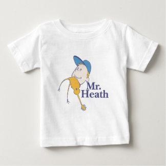 Sr. heath logo playera de bebé