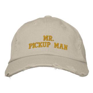 Sr. hombre de recogida gorra de béisbol