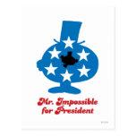 Sr. Impossible For presidente Tarjeta Postal