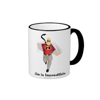 Sr. Incredible de Incredibles tiene gusto del supe Taza De Café