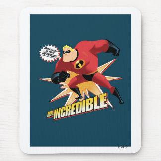 Sr. Incredible Disney Alfombrillas De Ratones