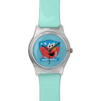 Sr. Independent Elmo Relojes De Pulsera
