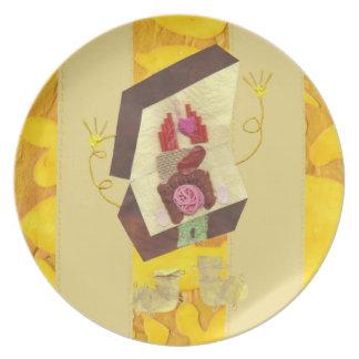 Sr. Inside-out Man Plate Plato