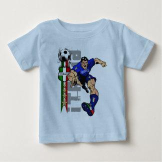 Sr. italian Stallion Forza Azzurri Italia 2010 Playera Para Bebé