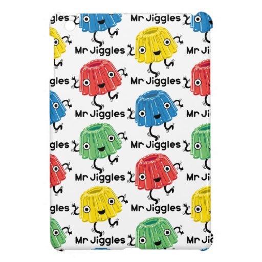 Sr. Jiggles - gelatina iPad Mini Cobertura