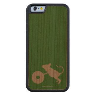 Sr. Jingles de la milla verde Funda De iPhone 6 Bumper Cerezo