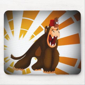Sr. Jingles el asesino del mono Mouse Pads