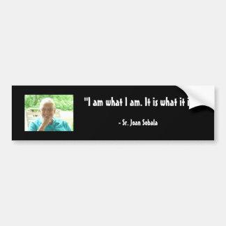 Sr. Joan Sobala Bumper Sticker