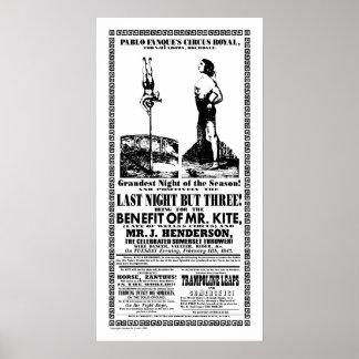 Sr. Kite - poster Póster