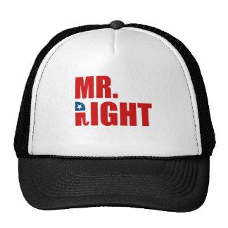 SR. LA RIGHT GORROS BORDADOS