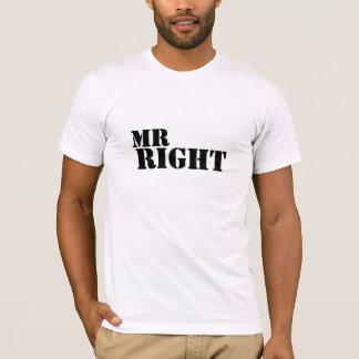 Sr. la Right Just Married Playera