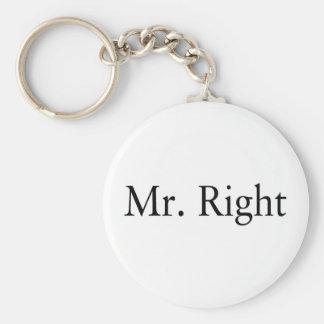 Sr. la Right Llaveros