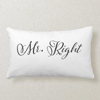 Sr. la Right Pillow Cojin
