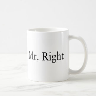 Sr. la Right Taza