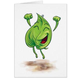 ¡Sr. Leaf es feliz! Felicitación