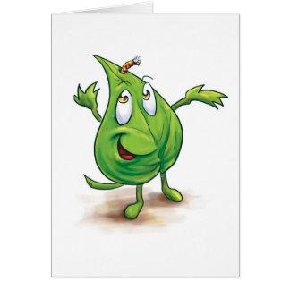 Sr. Leaf - tarjeta