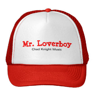 Sr. Loverboy Trucker Hat Gorro De Camionero