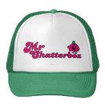 Sr. magenta Chatterbox Logo Gorra