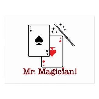 ¡Sr. Magician! Postal