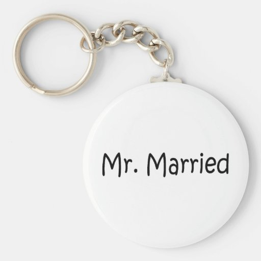 Sr. Married Llavero Personalizado