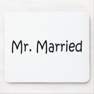 Sr. Married Tapetes De Ratón