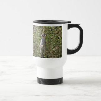 Sr. Meerkat Travel Mug Tazas De Café
