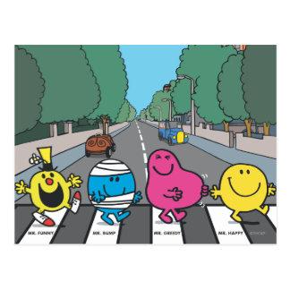 Sr. Men Abbey Road Walkers Postales