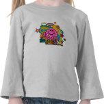 Sr. Messy Swirl Color Camiseta