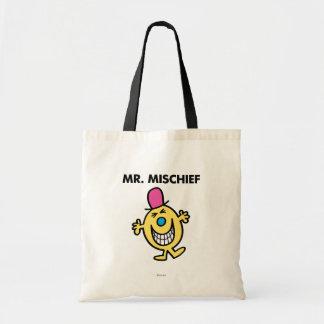 Sr. Mischief el   que sonríe alegre